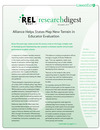 December 2014 REL West Research Digest Highlights Evaluating Educators in New Ways